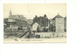 Lormes La Rue Du Château - Lormes