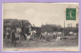 27 - Le NEUBOURG --  Ecole Pratique D'Agriculture  - Battage Mécanique - Le Neubourg