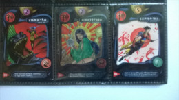 Lot De 3 Cartes N°85-94-96 - Deus
