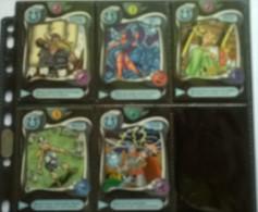 Lot De 5 Cartes N°50-52-55-58-60 - Deus