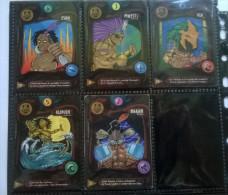 Lot De 5 Cartes N°2-7-9-10-12 - Deus