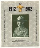 1912 - 1962 50e Verjaardag Van De Padvinderij In België / 50ème Anniversaire Du Scoutisme En Belgique - Souvenir Cards