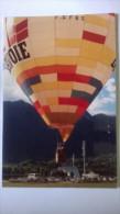 Montgolfière SAVOIE - Verso Timbre Alberville 92 Voir Scan - 300ex - Postcards