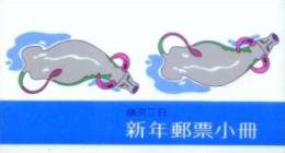 Taiwan 1996 Chinese New Year Zodiac Stamps Booklet- Ox Cow 1997 - Cuadernillos/libretas