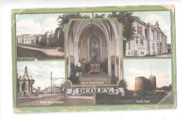 MULTIVIEW Postcard OF DUDLEY Staffordshire  Nr WEST BROMWICH England JAY EM JAY SERIES - Sonstige
