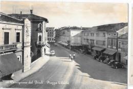 FRIULI VENEZIA GIULIA-UDINE-CERVIGNANO DEL FRIULI PIAZZA LIBERTA'ANNI 50 - Andere Steden