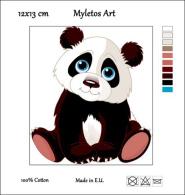 New Tapestry, Gobelin, Picture, Print, Tale, Animal, Panda Bear - Creative Hobbies