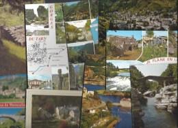 Lot De 50 CPM - LOZERE (48) Pont De Capelan, Villefort, Croze, Pont De Montvert, Navacelles, Aven Armand, Gorges Du Tarn - 5 - 99 Postales