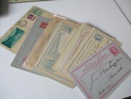 29 Ganzsachen Europa / Etwas Übersee. 1880 - 1934 Interessante Stücke, Viele Ins Ausland Gesendet! Stöberposten!! - Briefmarken