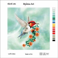 New Tapestry, Gobelin, Picture, Print, Tale, Animal, Bird, Flower - Creative Hobbies