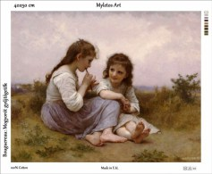 New Tapestry, Gobelin, Picture, Print, Bouguereau, Girls, Children - Creative Hobbies
