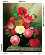 New Tapestry, Gobelin, Picture, Print, Floral Still Life, Bouquet - Creative Hobbies
