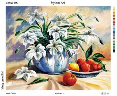 New Tapestry, Gobelin, Picture, Print, Floral Still Life, Flower - Creative Hobbies