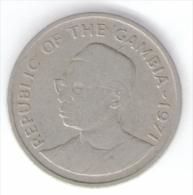 GAMBIA 25 BUTUTS 1971 - Gambia