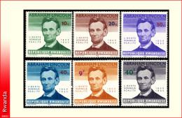 Rwanda 0092/97** Lincoln  MNH