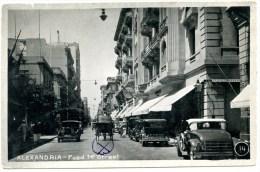Alexandria, Fuad 1st Street, Oldtimer, Kutsche, Lehnert & Landrock - Alexandria