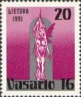 Lietuva Litauen 1991 MNH ** Mi. Nr. 470
