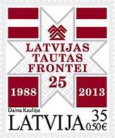 Latvia 2013 Mih. 874 Movement Latvia Peoples Front MNH ** - Latvia