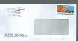 LETTRE Nouvelle Caledonie Le Bonhomme De Bourail - Used Stamps