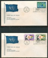 FDC UNITED NATIONS 1968- NEW YORK - New-York - Siège De L'ONU