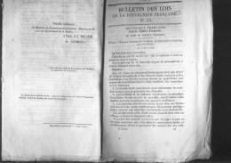 Bulletin Des Lois Du 4 Mai 1848 – 172 Ans D'âge ! - Institution D'une Fête Du Travail Aux Colonies - Liberté De La Press - Décrets & Lois