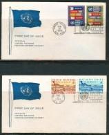 FDC UNITED NATIONS 1969- NEW YORK - New-York - Siège De L'ONU