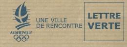 LETTRE ALBERVILLE 2013 Thème Anneaux Olympiques - Winter 1992: Albertville