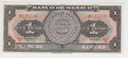 Mexico 1 Pesos 1959 Pick 59f UNC - Mexique