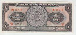 Mexico 1 Pesos 1959 Pick 59f UNC - Mexico