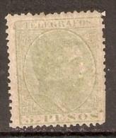 1886 FILIPINAS TELEGRAFOS EDIFIL 21* VALOR  12,75 € - Philippinen