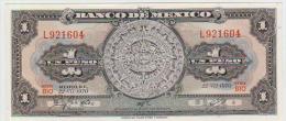 Mexico 1 Pesos 1970 Pick 59l UNC - México