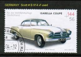 GERMANY   Scott  # B 914 VF USED - [7] Federal Republic