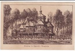 CPA 14-18 SARNKI-SREDNIE (Sarnki-Dolne) - Kirche - Ukraine, Galizien (A75, Ww1, Wk1) - Ukraine