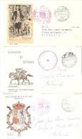 3 Cartas Con Matasellos De Servicios Filatelicos. - 1931-Hoy: 2ª República - ... Juan Carlos I