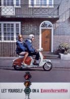 @@@ MAGNET - Lambretta Scooters - Publicitaires
