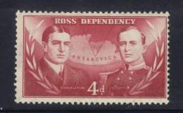 W1482 - ROSS , Un Valore  Yvert  N.  2  ** - Dipendenza Di Ross (Nuova Zelanda)
