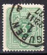 Deutsches Reich 3 Pfennige 1875 - 1Kreis Guben - Gebraucht