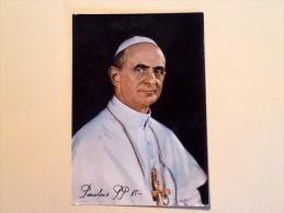PAPA PAOLO VI VIAGGIATA F.G. W - Papi