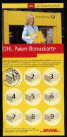 A2829) DHL Paket-Bonuskarte Von Arnstadt 28.10.2005 - BRD