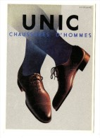 CP UNIC CHAUSSURES D'HOMMES  - Editions CASSANDRE  /1455 - Advertising