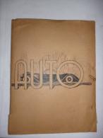 Divers Documents Automobile, Factures, Publicité Peugeot 203, Carte Automobile Club, Demande Bon D'essence, Permis De Ci - 1900 – 1949