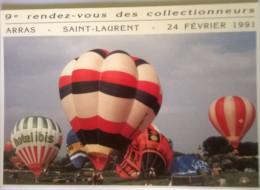 Championnat De France De Montgolfières Les 24,25 Et26 Mai 1980 à Duisans 500ex - Cartoline