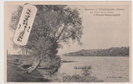 69 Env. De Villefranche - Cpa / Les Bords De La Saône à Frans-Beauregard. - Villefranche-sur-Saone