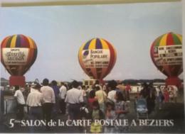 Le 1er Meeting à L'aéroport De Béziers Les 18-19-20 Mai 1990 (34) 500ex - Cartoline