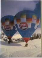 """LA PLAGNE - Février 1985 - Présentation Des Ballons """"Sport 2000"""" (73) Savoie - Cartoline"""