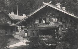 AK Böhmische Schweiz Balzhütte Tokani Gasthof Baude Bei Dittersbach Bei Kreibitz Daubitz Khaa Hinterdittersbach Tetschen - Sudeten