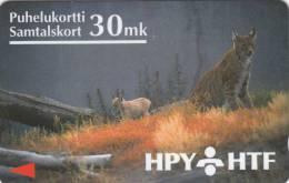 FINLAND(GPT) - Lynx, HPY telecard, CN : 8HTCE, tirage 15000, 07/94, used