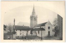 38 - HIERES - La Place De L'Eglise - BF 4 - Autres Communes