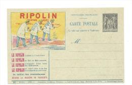 Entier Postal 10c Sage Ripolin Ref Storch G35l  Serie 22 - Cartoline Postali E Su Commissione Privata TSC (ante 1995)
