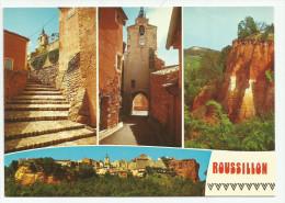 CPM CARTE POSTALE MODERNE - 84 - Roussillon Non écrite Non Timbrée - Autres Communes